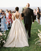 amanda william wedding tennessee processional bride father