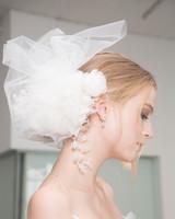 Marchesa Flower Hair Accessory