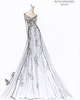 rivini by rita vinieris spring 2020 wedding dress sketch