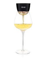 wine filter with wine glass white wine