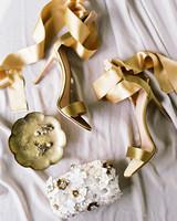 cassandra jason wedding shoes rings purse