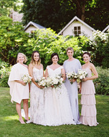cassandra jason wedding bridesmaids