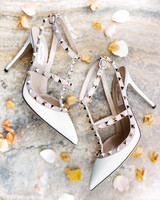 charla jesse wedding brides shoes