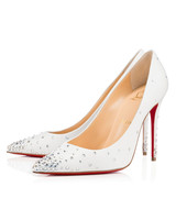 wedding shoes crystal pumps