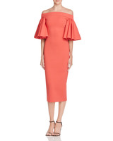 coral bridesmaid dress aq aq off shoulder ruffle