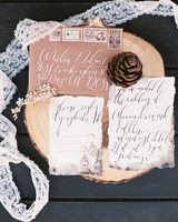 deckle edge invitations jenna joseph photography