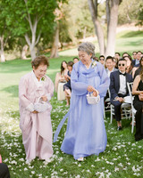 grace ceron wedding flower girl grandmas
