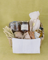 janet patrick rehearsal dinner welcome basket