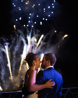 jeannette taylor wedding portugal fireworks