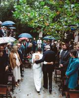 jessie and father wedding processional