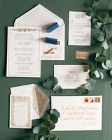 jessie tristan wedding tennessee stationery