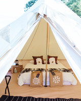 jessika william wedding glamping tent