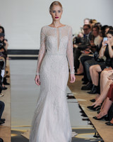 Justin Alexander Beaded Mermaid Wedding Dress Spring 2018