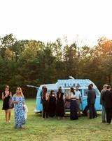 kayla michael wedding photo booth van