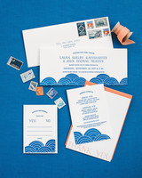laura john wedding massachusetts stationery