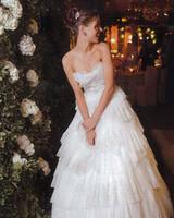 Marchesa Designer Georgina Chapman Wedding Photo