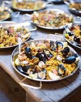 dinner paella