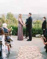 surprise wedding ceremony valley overlook
