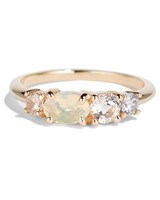 bario neal linear opal ring