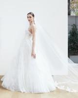 sweetheart lace ball gown Oscar de la Renta Spring 2018 Wedding Dress Collection