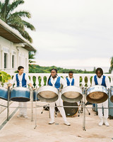 porsha terry wedding jamaica steel drum band