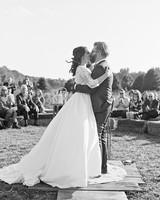 rachel elijah wedding kiss