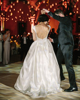 regina chris wedding first dance