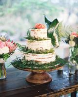 30 rustic wedding cakes were loving martha stewart weddings wedding cake with foliage junglespirit Image collections