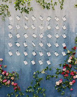 samantha michael wedding escort cards