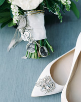 stephanie matt bride shoes and charms