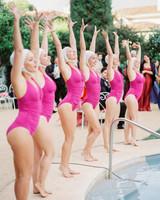 stephanie nikolaus wedding swimmers