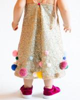 tashina huy colorful wedding flower girl poms