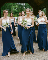 two piece bridesmaids a bryan photo joanna august