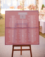 pink seating chart