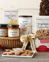 holiday gift box snacks