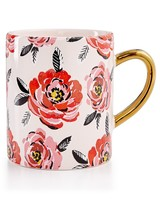 Martha Stewart Collection Floral Mug
