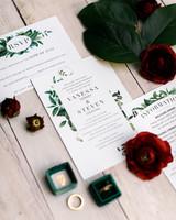 vanessa steven wedding stationery flowers