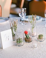 addie alex wedding centerpieces cacti