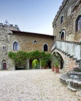air bnb wedding venue tuscany stone castle