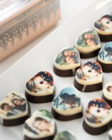 Annie Atkinson's Custom Bridal Shower Chocolates