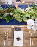 wedding table setting