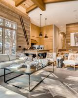 modern cabin vail colorado aribnb