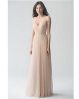 beige neutral bridesmaid dresses jenny yoo emelie