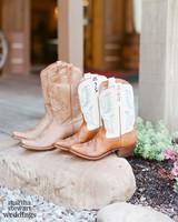 beth behrs michael gladis wedding cowboy boots sylvie gil