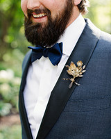 britt courtney wedding vintage boutonniere