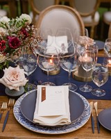 caitlin michael wedding place setting