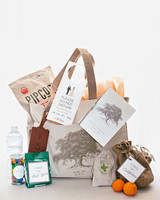 cassandra ben wedding california welcome bag
