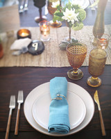 Flea Market Table Setting