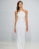 Christian Siriano Halter-Neck Wedding Dress