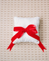 velvet wedding ring pillow